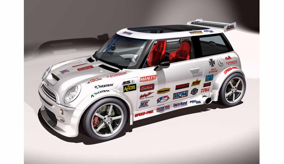 3d Model Of Mini Cooper S Rallye Car 169 John Van Straalen